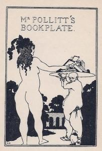 Pollitt's Bookplate
