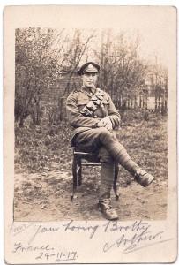 Grandad Hobbs 1917 Aged 22