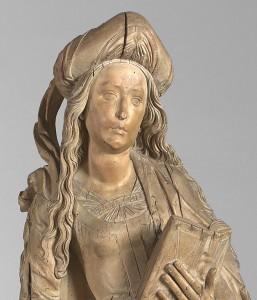Tilman Riemenschneider  A Female Saint © Compton Verney