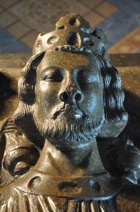 King John - detail from his funerary effigy in Worcester Cathedral. Image copyright the Dean and Chapter of Worcester Cathedral (UK)