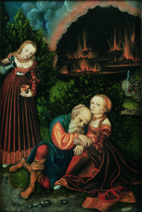 CVCSC 0332.N Cranach, Lucas the Elder - Lot and his Daughters © Compton Verney